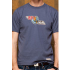 Red Canoe BELL HELICOPTER T-SHIRT WASHED BLUE M-SST-BELL-01-WB