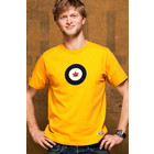 Red Canoe RCAF T-SHIRT BURNT YELLOW M-SST-RCAF-01-BY