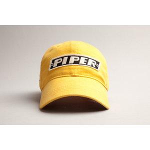 RED CANOE U-CAP-PIPER-01-BY PIPER CAP BURNT YELLOW