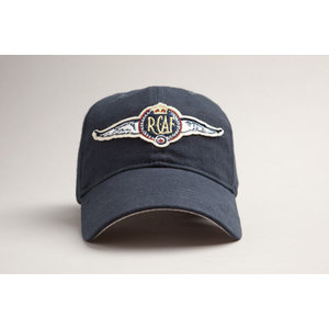 RED CANOE U-CAP-AFWGS-01-NY RCAF WINGS CAP NAVY
