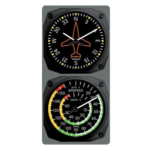 TRINTEC CLASSIC DIRECTIONAL GYRO/AIRSPEED 9062/9061