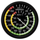 "TRINTEC 14"" AIRSPEED INDICATOR WALL CLOCK 2061-14"
