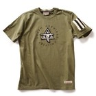 Red Canoe RED CANOE NAA NORTH AMERICAN AVIATION APPLIQUE T SHIRT KHAKI M-SST-NAA-01-KI