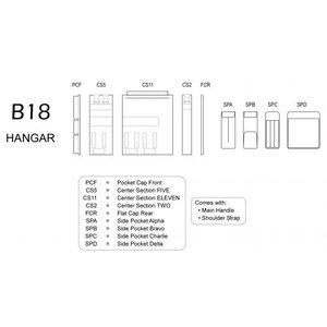 BRIGHTLINE BAGS B18 HANGAR