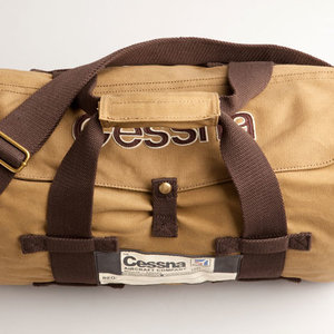 RED CANOE CESSNA CANVAS STOW BAG - TAN