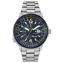 CITIZEN NAVIHAWK BLUE ANGEL S/S STRAP BJ7006-56L