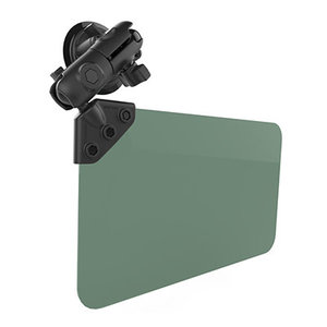 RAM SUCTION CUP MOUNT WITH GREEN VISOR 50% TINT