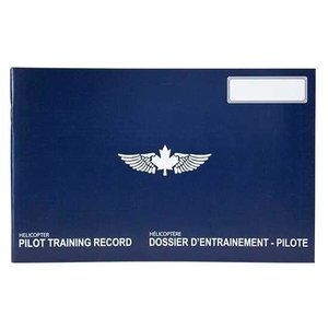 Helicopter Pilot Training record Blue