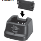 ICOM BC-144N RAPID DESKTOP CHARGER