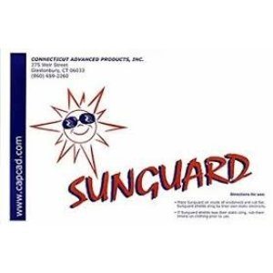 SUNGUARD SLAP-ON-SUN VISOR, LARGE