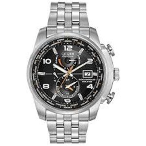 CITIZEN WORLD TIME A-T S.S. AT9010-52E