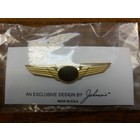 #3625 GOLD WING PIN PLAIN