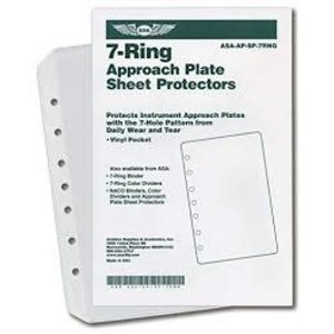 ASA 7 RING VINYL SHEET PROTECTOR POCKETS