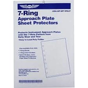 ASA 7 RING POLY SHEET PROTECTOR FOLDERS