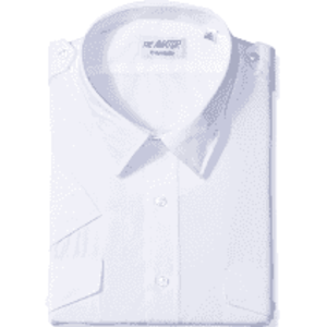 Men's Short Sleeve Pilot Uniform Shirt Van Heusen