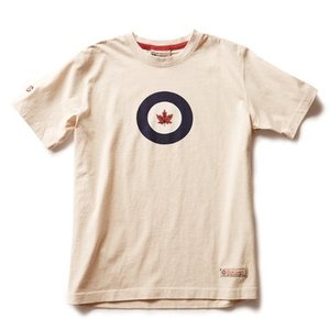 Red Canoe RCAF RCAF S/S T-SHIRT STONE Colour Large