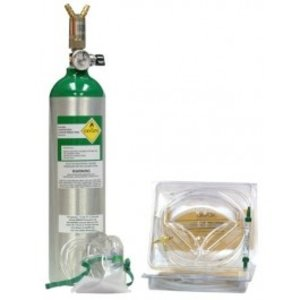 AEROX PORTABLE 2 PERSON OXYGEN SYSTEM - D