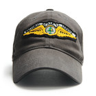 RED CANOE NATIONAL AIR SERVICE CAP SLATE U-CAP-NAS-SL