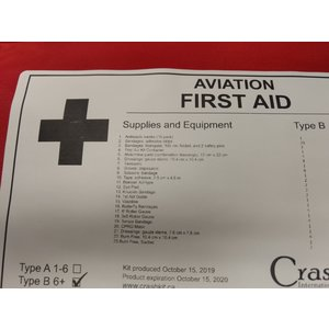 TYPE B FIRST AID KIT by CRASHKIT
