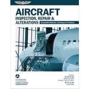 ASA AIRCRAFT INSPECTION, REPAIR AND ALTERATIONS AC 43.13