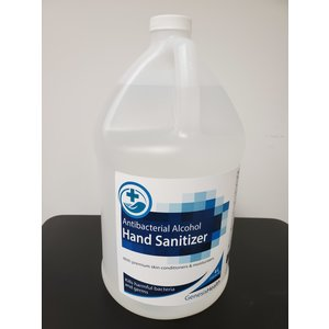 Hand Sanitizer Antibacterial 80% Alcohol 4 Litre refill