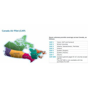 Nav Canada CAP IFR Instrument approach procedures Charts Canada Air Pilot