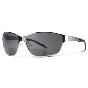 Dual Eyewear DUAL EYEWEAR AV1 Chrome Frame SMOKE LENSES