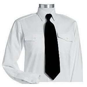 Men's Long Sleeve Pilot Uniform Shirt Van heusen