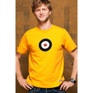 Red Canoe RED CANOE RCAF T SHIRT BURNT YELLOW M-SST-RCAF-01-BY