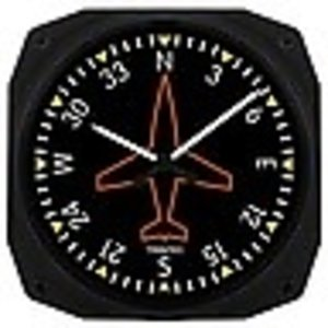 TRINTEC CLASSIC DIRECTIONAL GYRO CLOCK 9062