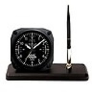 TRINTEC DESK PEN SET - ALTIMETER CLOCK DS 60