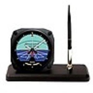 TRINTEC DESK PEN SET - HORIZON CLOCK DS 63