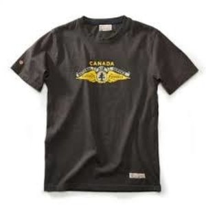 Red Canoe RED CANOE NATIONAL AIR SERVICE S/S T SHIRT SLATE