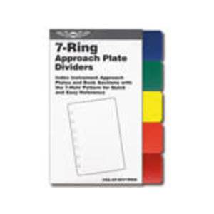 ASA 7 RING APPROACH PLATE COLOR DIVIDERS