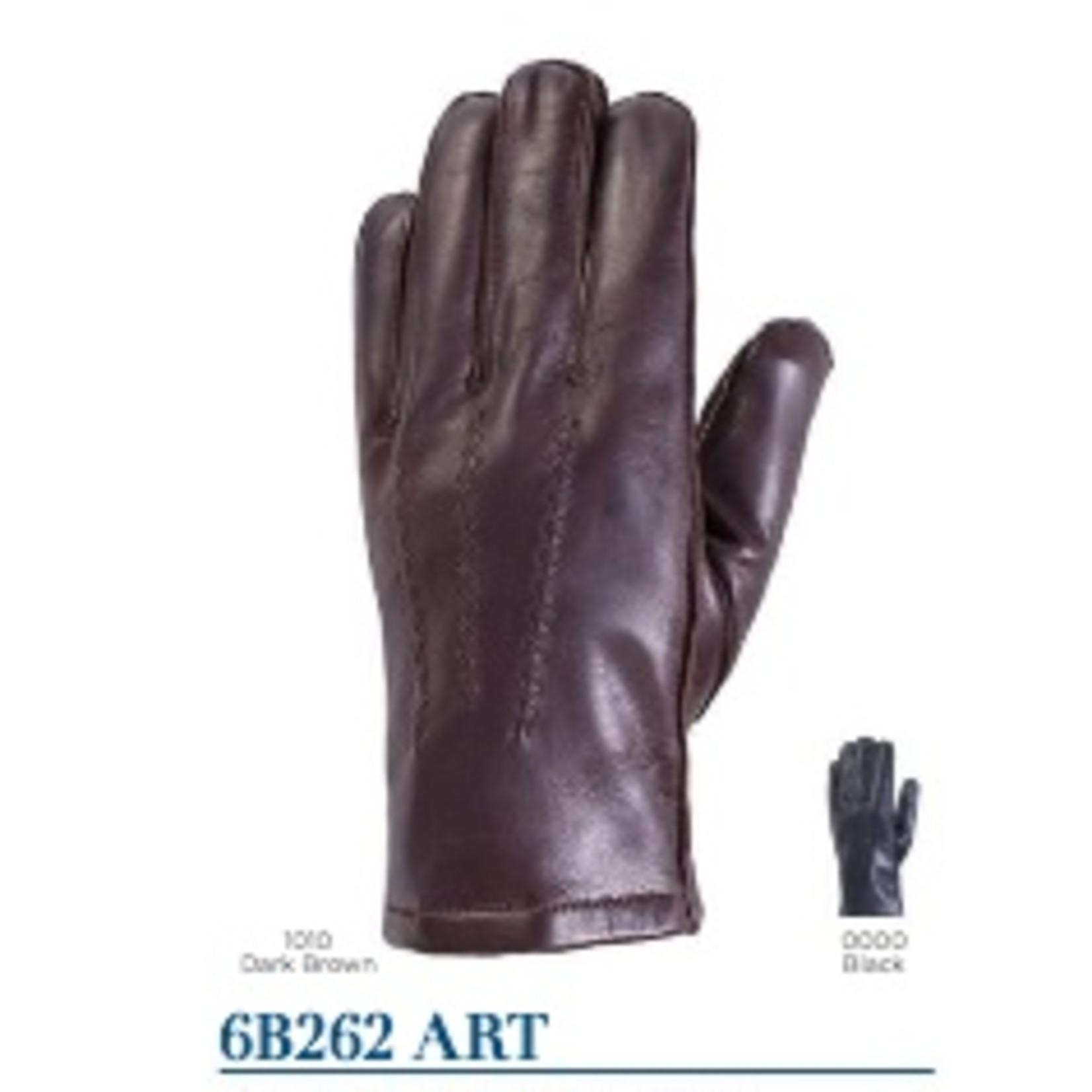 Auclair Auclair 6B262 Art Brown Leather Gloves