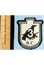 Crowsnest Sticker Large