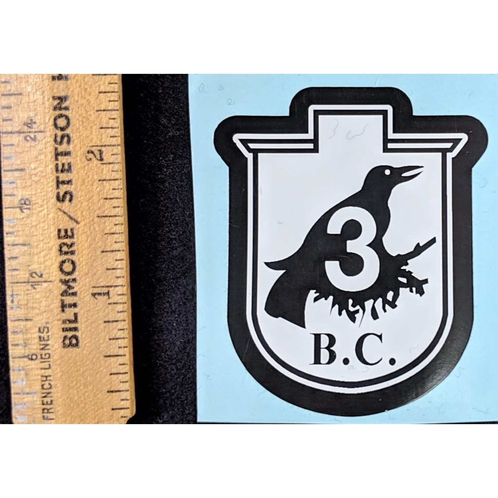 Crownest Sticker Small