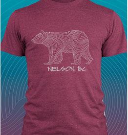 Love TwentyTwo Love 22 Line Bear T-Shirt