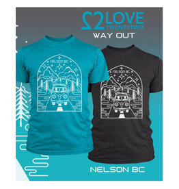 Love TwentyTwo Love 22 Way Out T-Shirt