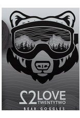 Love TwentyTwo Love 22 Bear Goggles T-Shirt