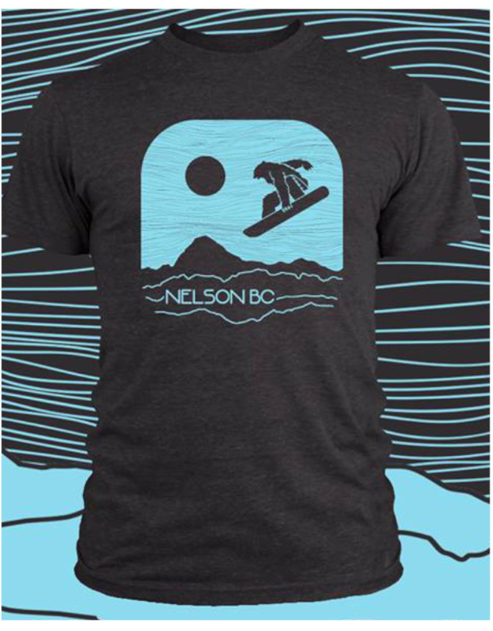 Love TwentyTwo Love 22 Snowboard Bear T-Shirt