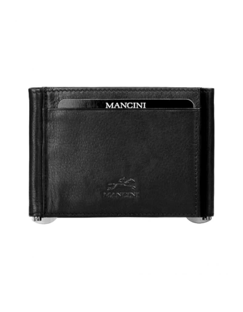 Mancini Mancini 89196 Two sided billfold w/ credit card slots