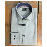 Leo Chevalier Leo Chevalier Slim Fit Micro Polyester Dress Shirt