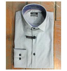 Leo Chevalier Leo Chevalier Slim Fit Micro Polyester Dress Shirt
