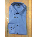 Leo Chevalier Leo Chevalier 100% Cotton Slim Fit Dress Shirt.