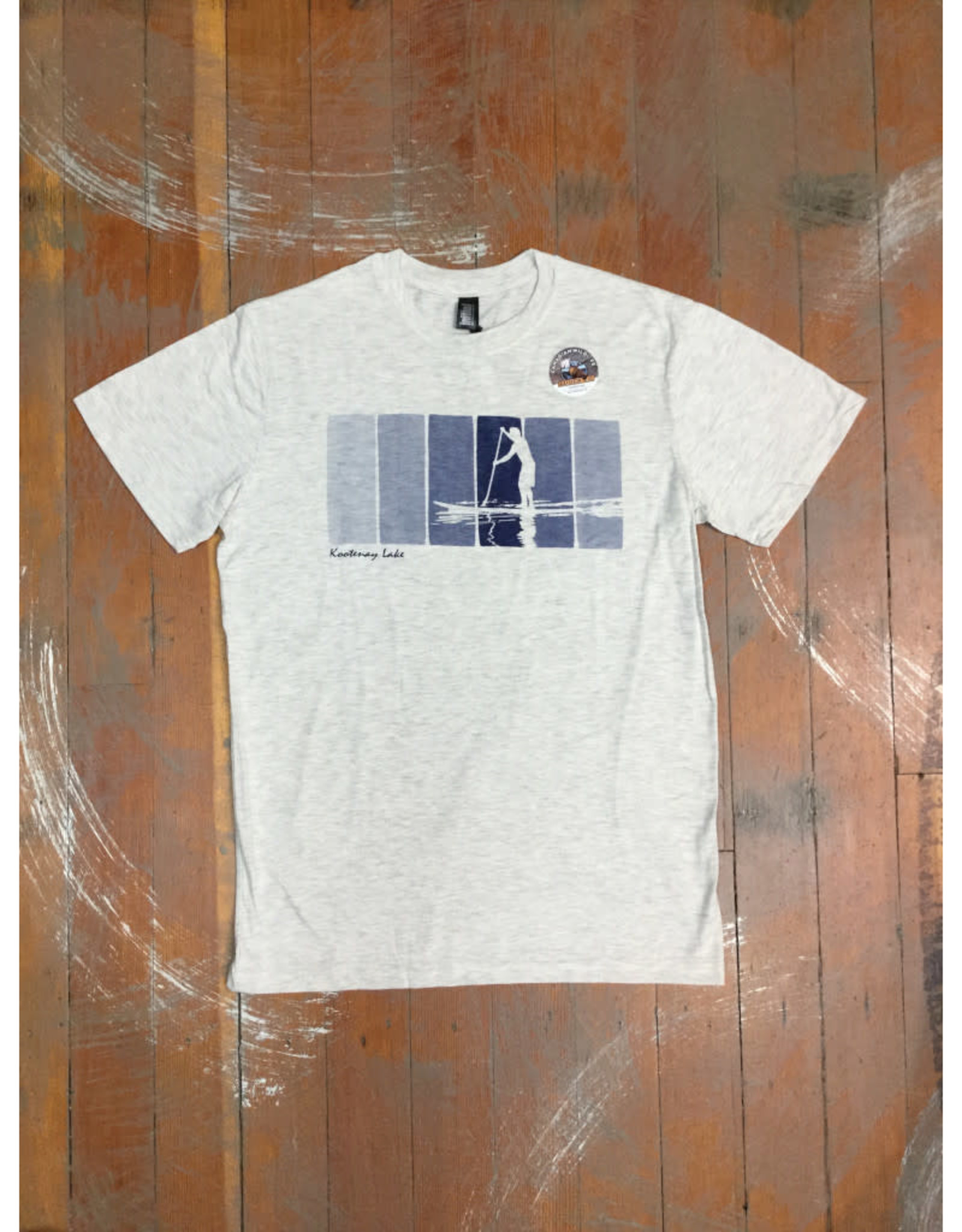 Attraction Paddle Reflection Souvenir T-Shirt