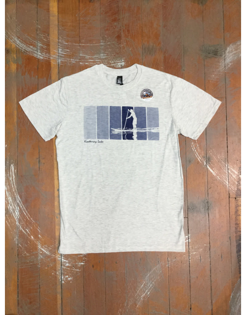 Attraction Paddle Reflection Souvenir T-Shirt