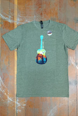 Attractions Mountain Guitar Souvenir T-Shirt