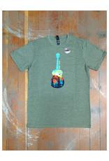 Attractions Mountain Guitar Souvenir T-Shirt