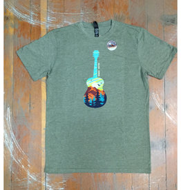 Mountain Guitar Souvenir T-Shirt